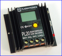PL20 plasmatronics pl series battery charge controller Solar Panel Wiring at readyjetset.co
