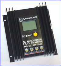 PL40 plasmatronics pl series battery charge controller Solar Panel Wiring at readyjetset.co